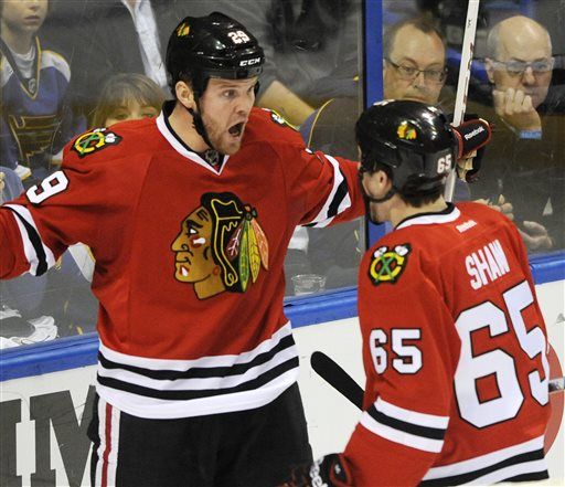 Bryan Bickell, Andrew Shaw