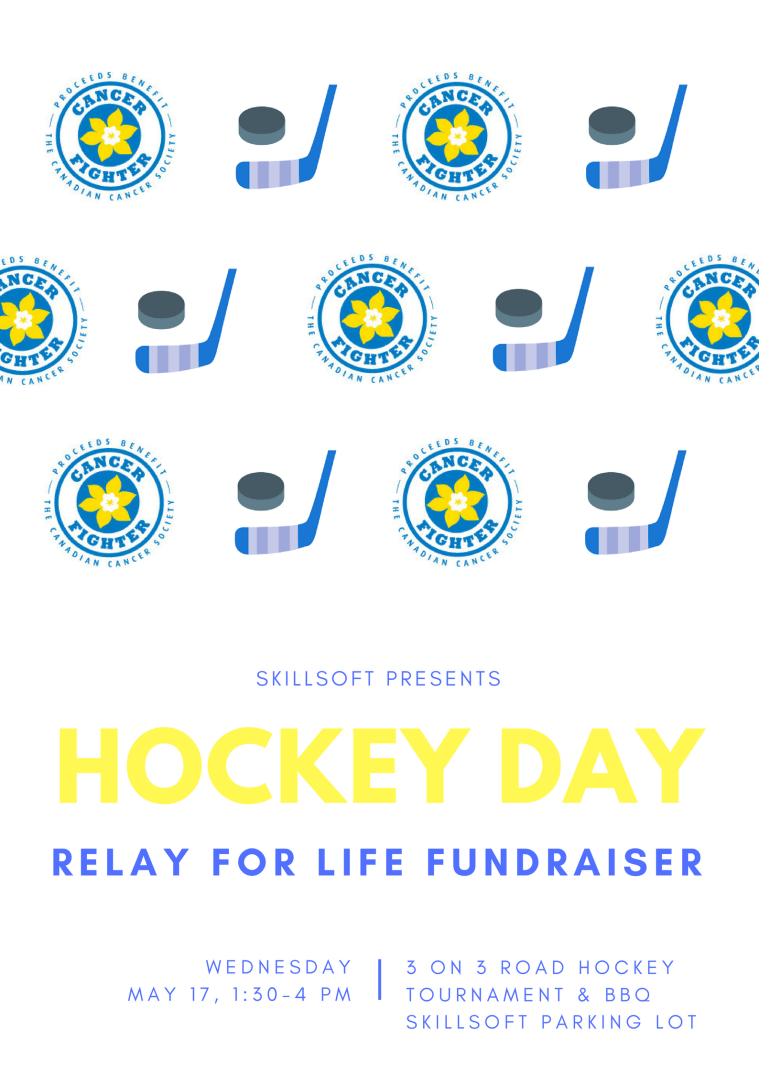 Relay For Life Hockey Poster